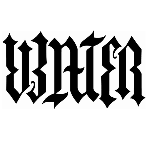 ambigram water tat tattoo