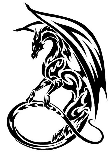 dragon tat tattoo 05