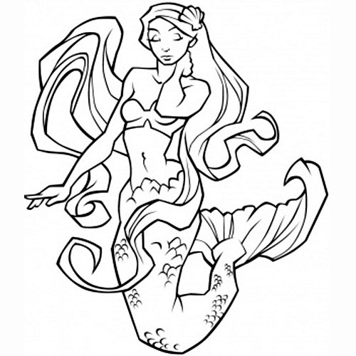mermaid tats tattoos 05