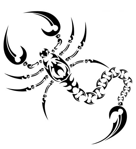 scorpion tat tattoo 01