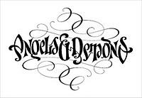 ambigram angels and demons tat tattoo