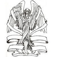 angel fairy tat tattoo 10