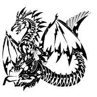 dragon tat tattoo 01