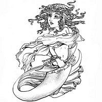 mermaid tats tattoos 08